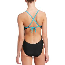 Nike Swim Solid Cross Back Yksiosainen Naiset, black